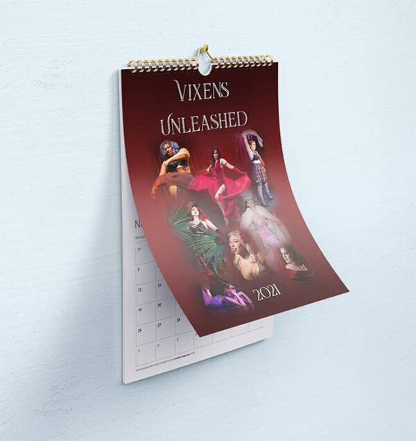 Vixens Unleashed calendar 2021