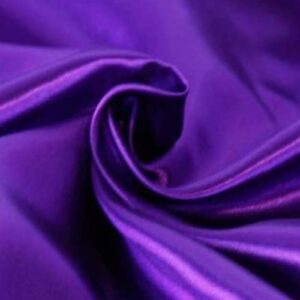 Vixen Purple Satin Fabric